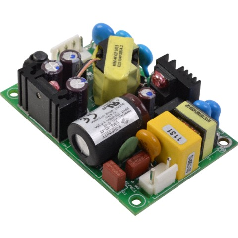 ספק כוח AC/DC לשאסי - 40W - 90V~264V ⇒ 24V / 1.67A XP POWER