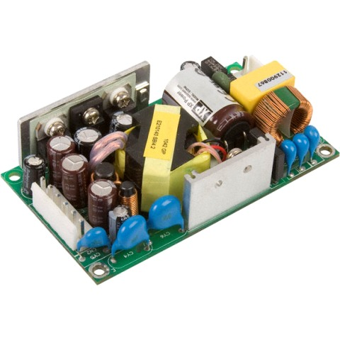 ספק כוח AC/DC לשאסי - 30W - 85V~264V ⇒ 5V / 6A XP POWER