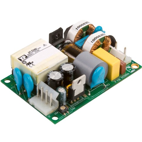 ספק כוח AC/DC לשאסי - 25W - 80V~264V ⇒ 48V / 520MA XP POWER