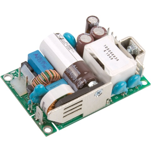 ספק כוח AC/DC לשאסי - 60W - 80V~264V ⇒ 12V / 5A XP POWER