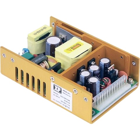 ספק כוח AC/DC לשאסי - 120W - 90V~264V ⇒ 24V / 5A XP POWER