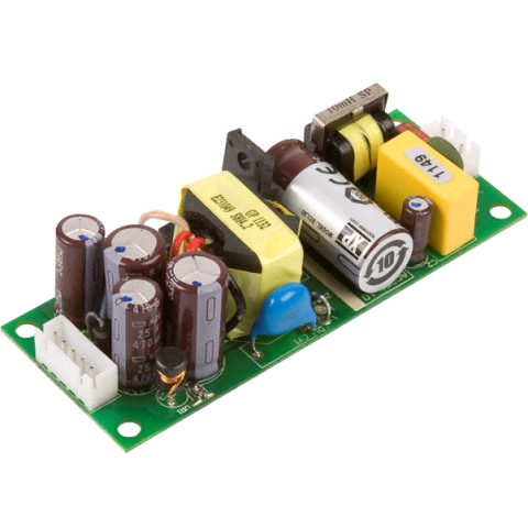 ספק כוח AC/DC לשאסי - 30W - 85V~264V ⇒ +5V / +15V / -15V XP POWER