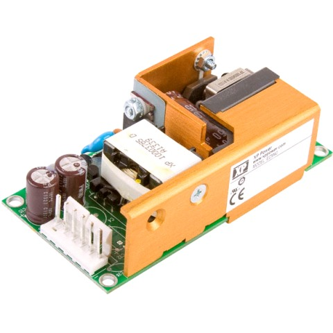 ספק כוח AC/DC לשאסי - 40W - 90V~264V ⇒ +3.3V / +5V / +12V XP POWER