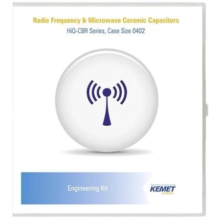 KEMET CER ENG KIT 32 RF & MICROWAVE SMD CAPACITOR KIT - 0201