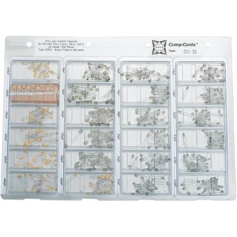 NOVA 600PCS CREAMIC CAPACITOR KIT - CCC-31