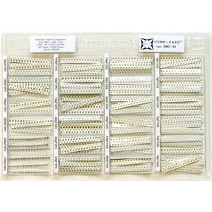 קיט קבלים SMD קרמיים - 24 ערכים - 2380 יחידות NOVA