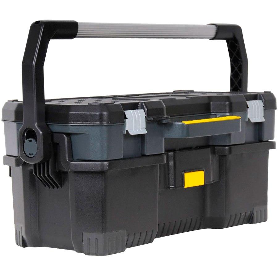 ארגז כלים משולב תא אחסון נשלף - STANLEY 1-97-506 STANLEY