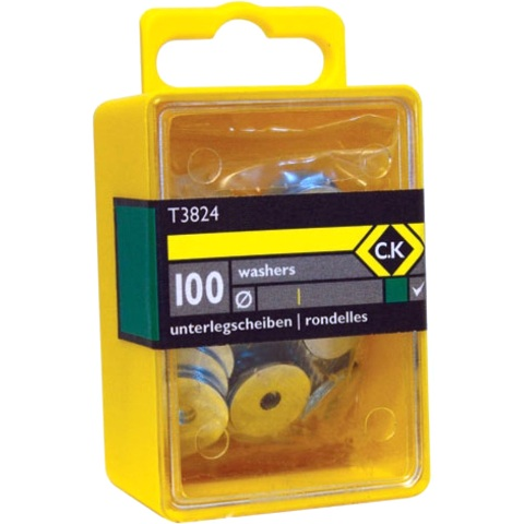 CK TOOLS STEEL RIVET WASHERS - T3824
