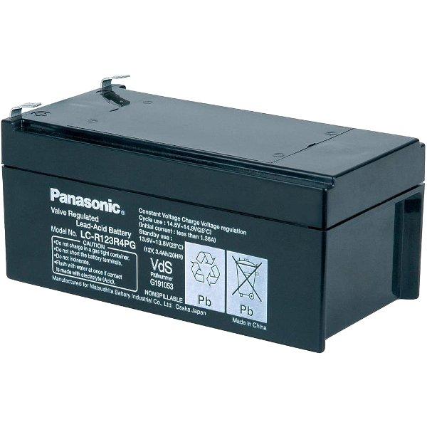 מצבר עופרת נטען - PANASONIC 12V 3.4AH PANASONIC