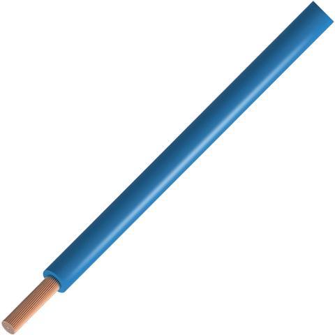כבל חשמל גמיש - 6.0MM² / 10AWG - TRI RATED 600V - כחול בהיר PRO-POWER