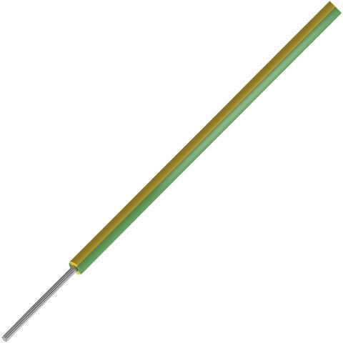כבל חשמל גמיש - 1.5MM² - HIGH TEMP 500V - ירוק / צהוב PRO-POWER