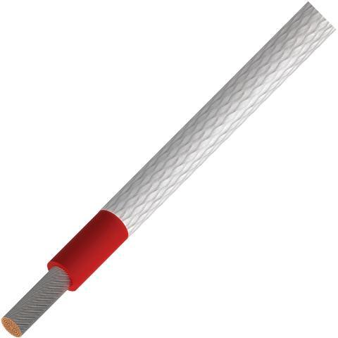 כבל חשמל גמיש - 1.0MM² - HD HIGH TEMP 500V - בידוד אדום PRO-POWER