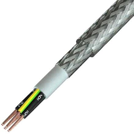 כבל חשמל גמיש - 3X1.0MM² - MULTICORE SY - בידוד שקוף PRO-POWER
