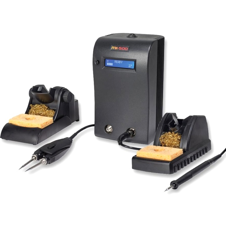 OKI METCAL MX-500SPT DUAL OUTPUT SOLDERING & REWORK SYSTEM