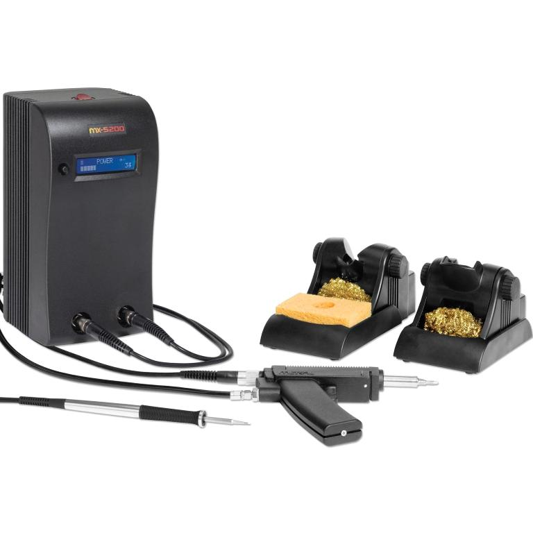 OKI METCAL MX-5251 DUAL OUTPUT SOLDERING & DESOLDERING SYSTEM