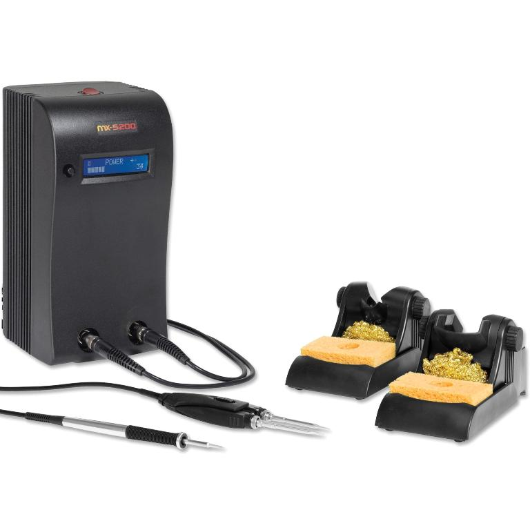 OKI METCAL MX-5241 DUAL OUTPUT SOLDERING & REWORK SYSTEM