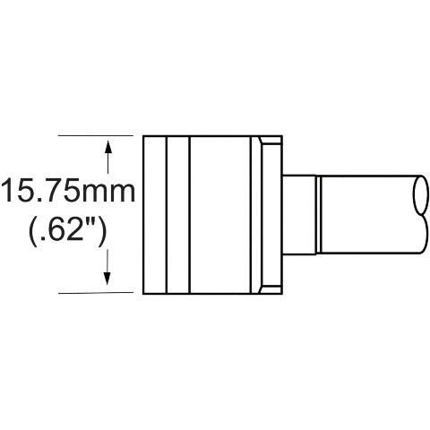 ראש לידית מלחם - METCAL SMTC-161 - BLADE 15.75MM METCAL