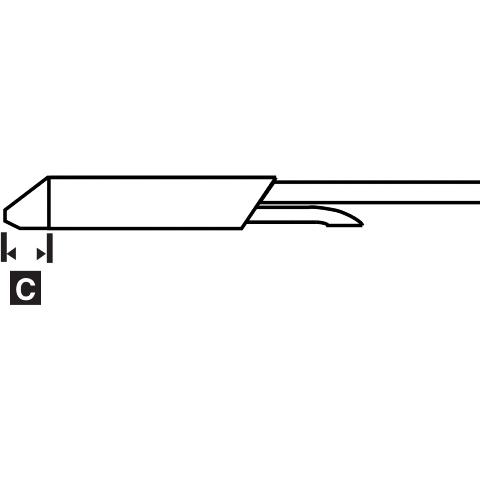 ראש לידית מלחם - METCAL STDC-107 - STANDARD 2.41MM METCAL