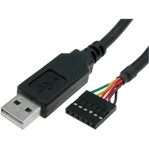 כבל TTL-232R-3V3 , USB ⇒ TTL FTDI