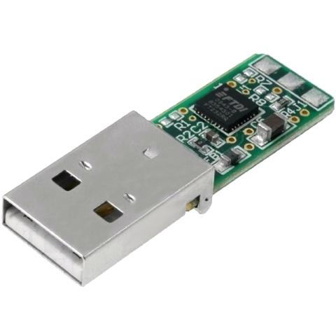 ממיר - TTL-232R-PCB , TTL ⇒ USB FTDI