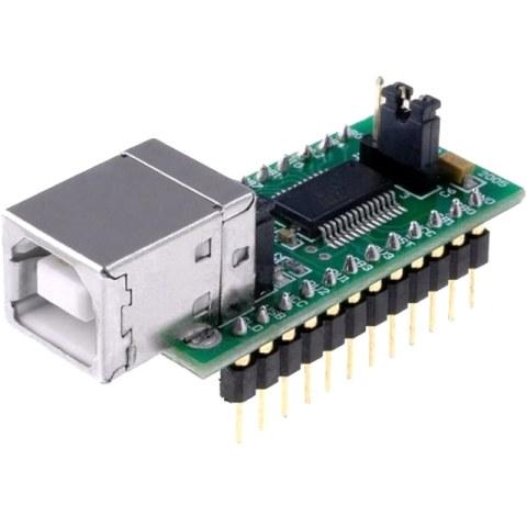 מודול פיתוח - UMR232R , USB ⇒ SERIAL FTDI
