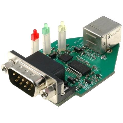 מגשר - USB-COM232-PLUS-1 , USB ⇒ RS232 FTDI