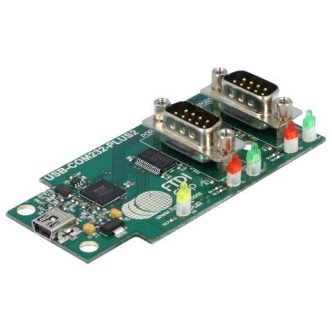 מגשר - USB-COM232-PLUS-2 , USB ⇒ RS232 FTDI