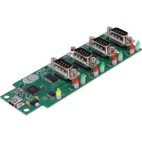 מגשר - USB-COM232-PLUS-4 , USB ⇒ RS232 FTDI