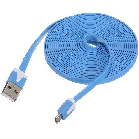 כבל VA-FC-1M-BLW , USB A ⇒ USB MICRO B FTDI