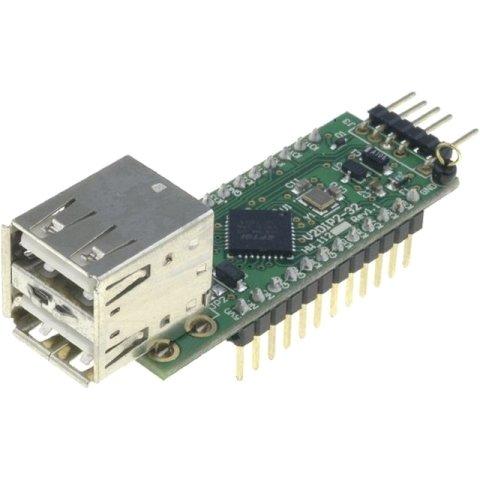 מודול פיתוח - V2DIP2-32 , USB HOST CONTROLLER , VNC2 FTDI