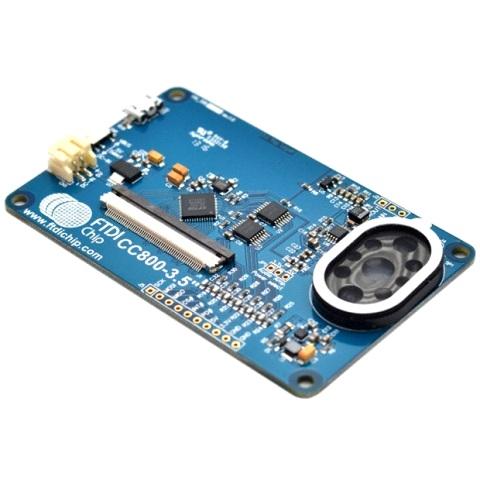 כרטיס פיתוח - VM800C35A-N , FT800 FTDI