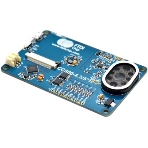 כרטיס פיתוח - VM800C43A-N , FT800 FTDI