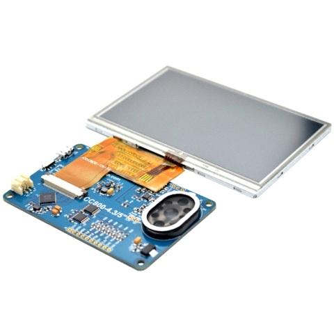 מודול פיתוח - VM800C43A-D , 4.3