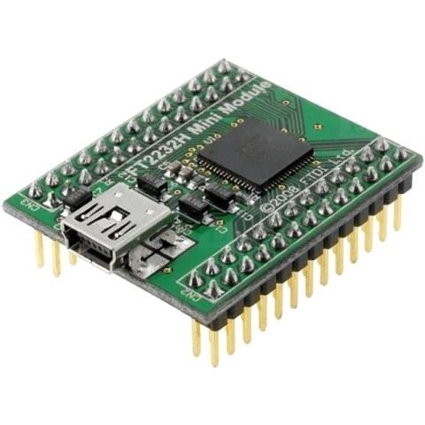 FTDI FT2232HQ-MINI USB TO SERIAL / FIFO DEVELOPMENT MODULE