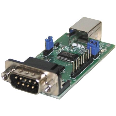 מודול פיתוח - EVAL232R , USB ⇒ RS232 , FT232RL FTDI