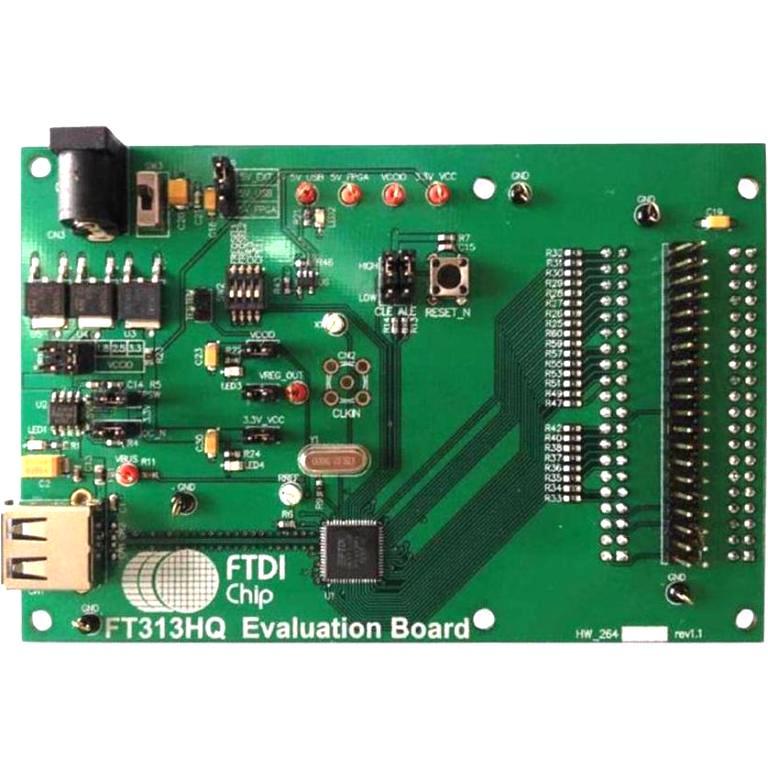 מודול פיתוח - UMFT313EV , USB HOST CONTROLLER , FT313H FTDI