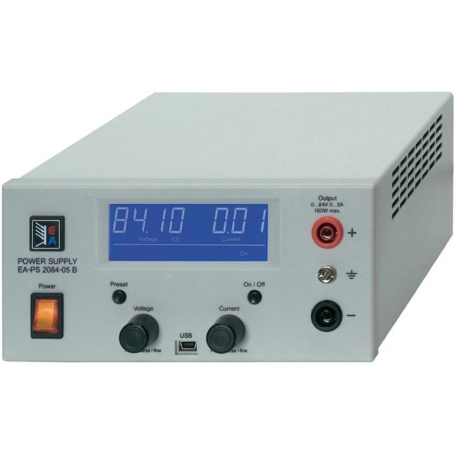 ספק כוח מעבדתי - ADJ - יציאה אחת - (0-84V / 0-5A) ELEKTRO AUTOMATIC