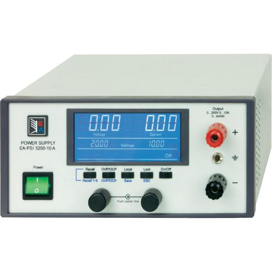 ספק כוח מעבדתי - PROG - יציאה אחת - (0-40V / 0-20A) ELEKTRO AUTOMATIC