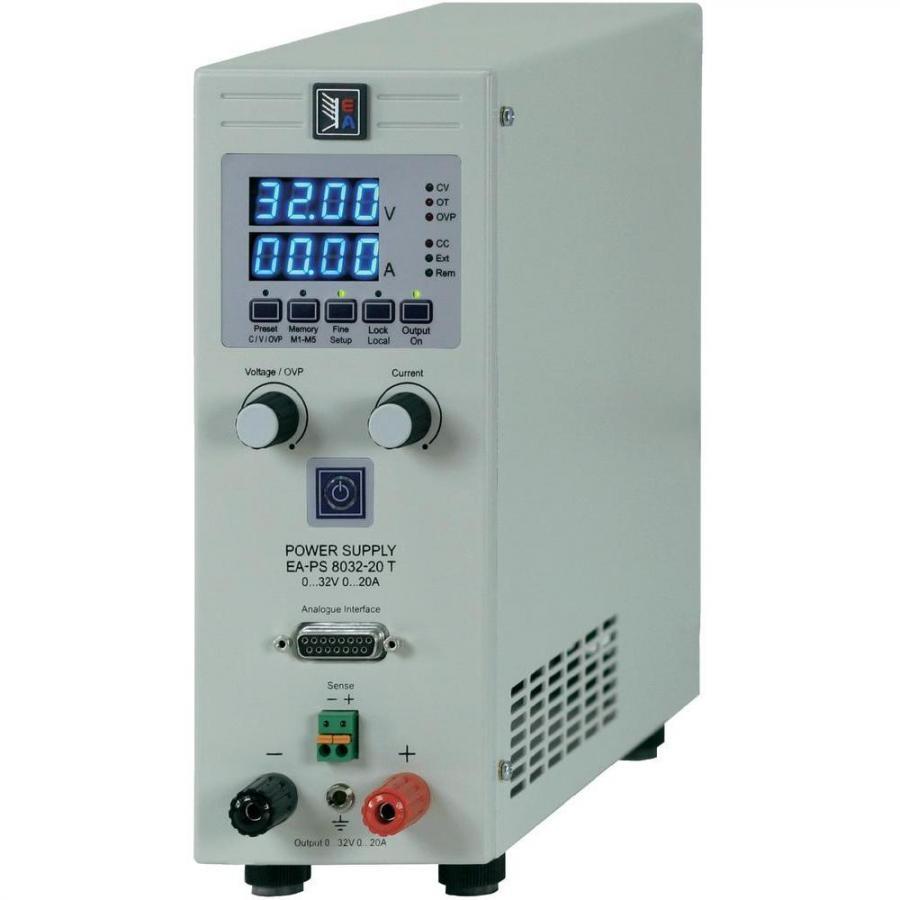 ספק כוח מעבדתי - PROG - יציאה אחת - (0-32V / 0-20A) ELEKTRO AUTOMATIC