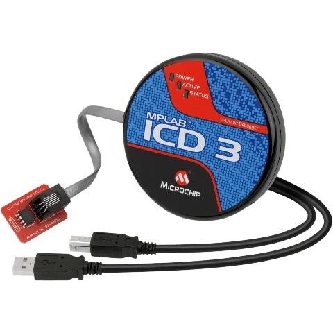 ערכת פיתוח - DV164035 - MPLAB ICD 3 - DEBUGGER MICROCHIP