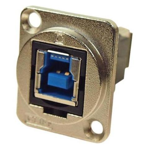 מתאם לפנל - (USB 3.0 B (F) ~ USB 3.0 A (F CLIFF