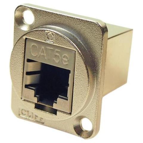 מתאם לפנל - (RJ45 CAT5E FTP (F) ~ RJ45 CAT5E FTP (F CLIFF