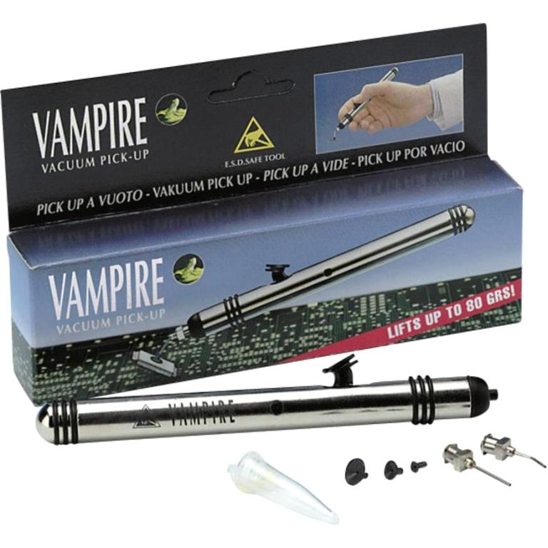 עט ואקום אנטי סטטי להרמת רכיבים - IDEAL TEK VAMPIRE IDEAL-TEK