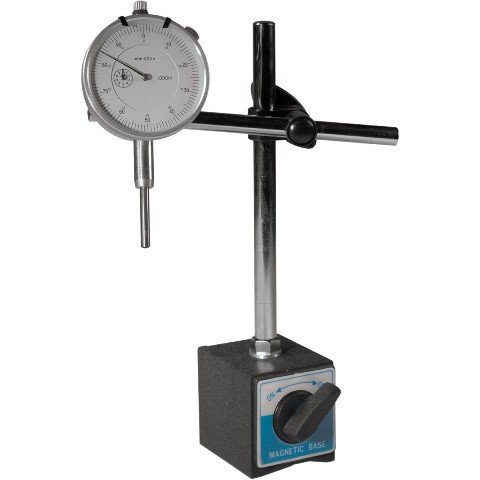 DURATOOL MAGNETIC BASE & DIAL GAUGE - MB-UNI-KIT