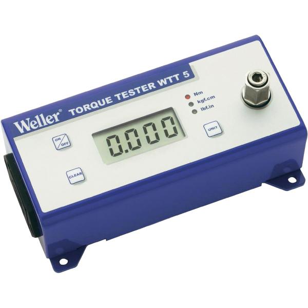 טסטר דיגיטלי למברגות מומנט תעשייתיות - WELLER WTT5 WELLER