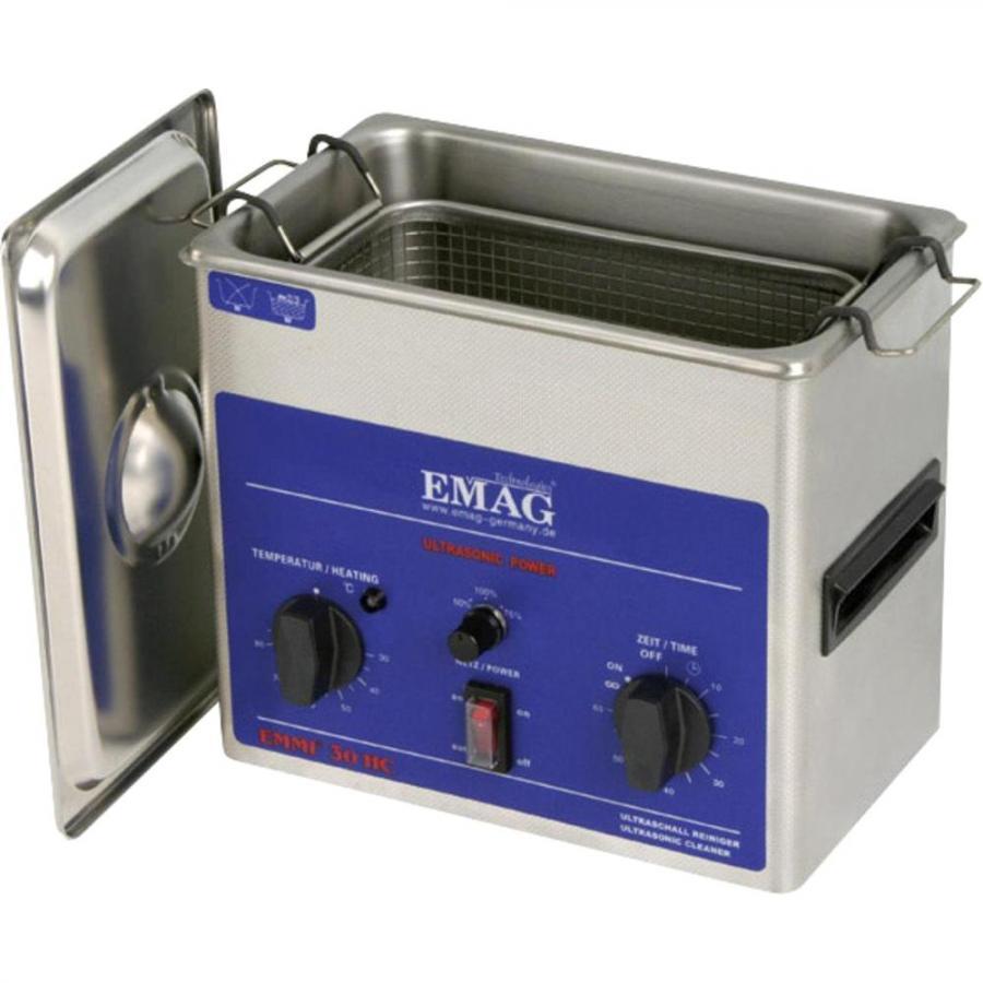 אמבטייה לניקוי אולטראסוני - 3 ליטר - EMMI-30 HC EMAG