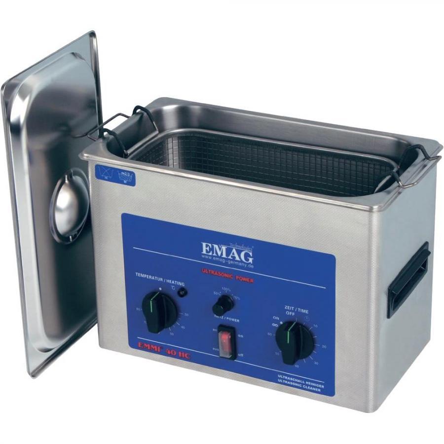 אמבטייה לניקוי אולטראסוני - 4 ליטר - EMMI-40 HC EMAG