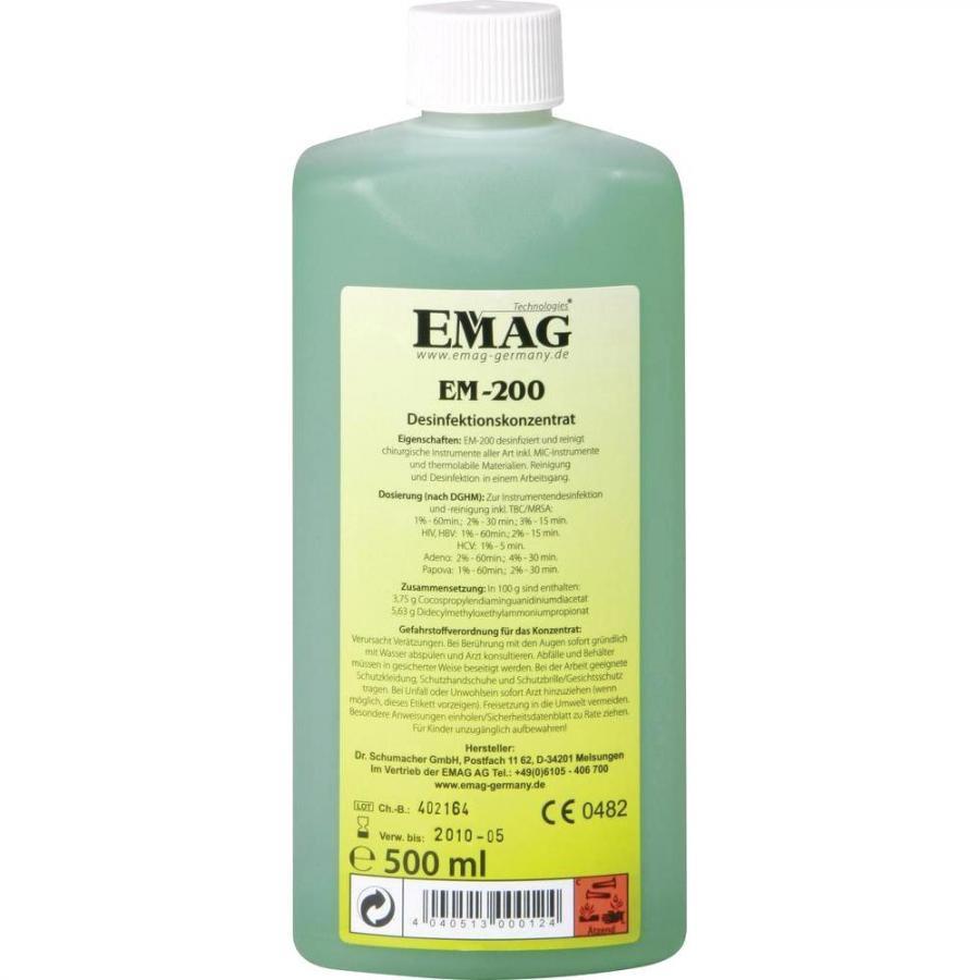 נוזל לניקוי אולטראסוני - EM-200 - DESCOTON PLUS EMAG