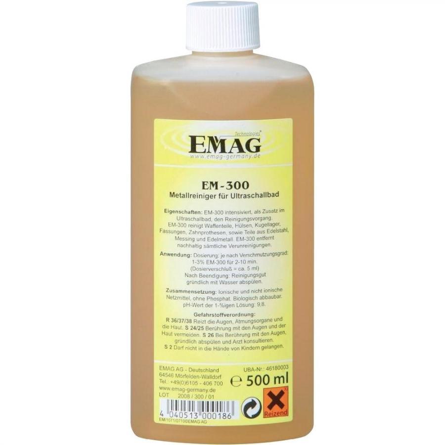 נוזל לניקוי אולטראסוני - EM-300 - METAL EMAG