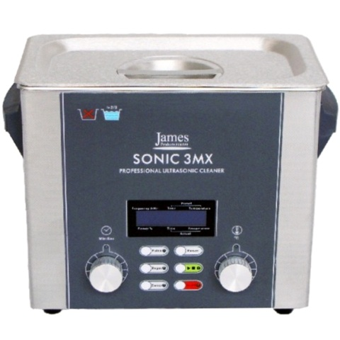 JAMES PRODUCTS STAINLESS STEEL ULTRASONIC CLEANERS - SONIC SERIES